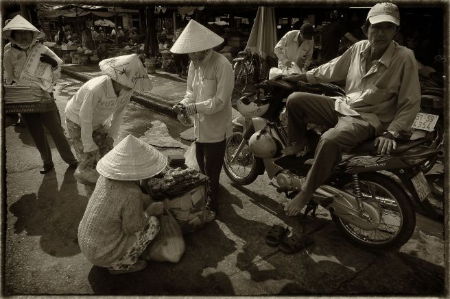 Saigon market place© Roger Garwood 2013