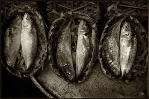 Saigon: Fresh fish from the delta© Roger Garwood 2013
