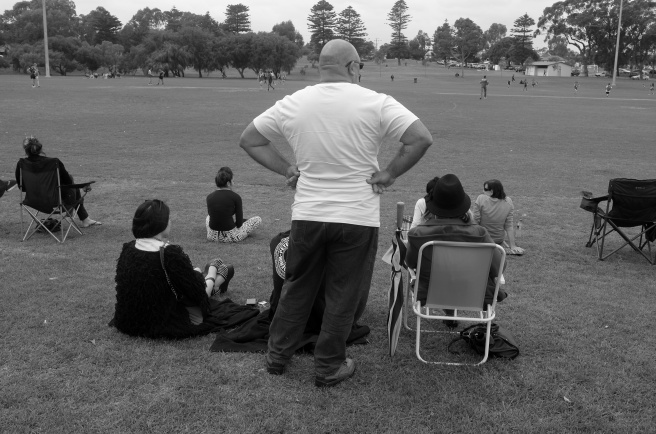 Football Dad Copyright Roger Garwood 2013